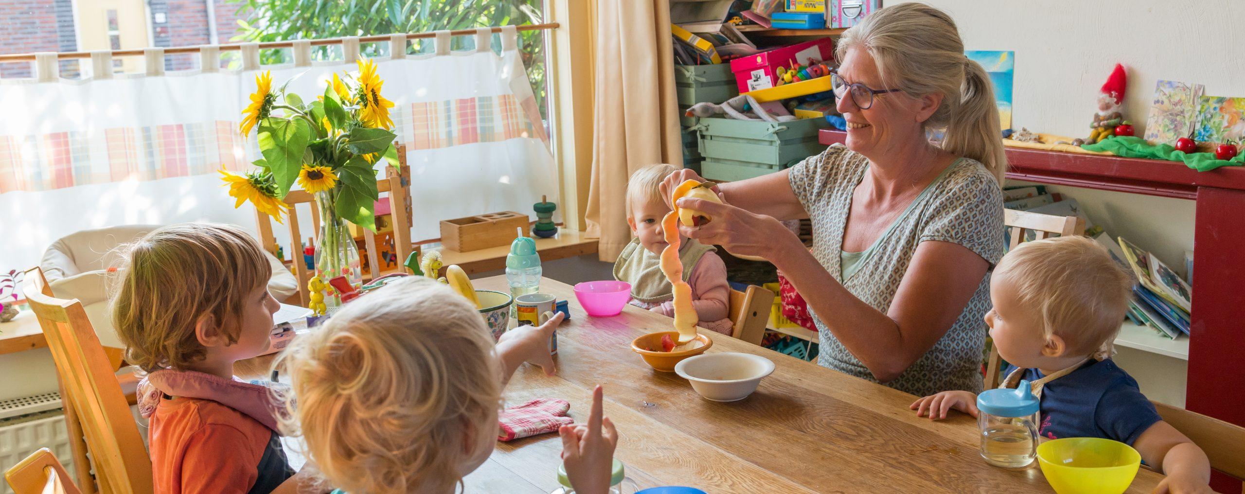 Gastouder Gonny, warme en huiselijke kinderopvang